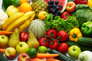 पोषण युक्त भोजन