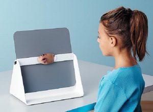 Speech therapy dual mirror