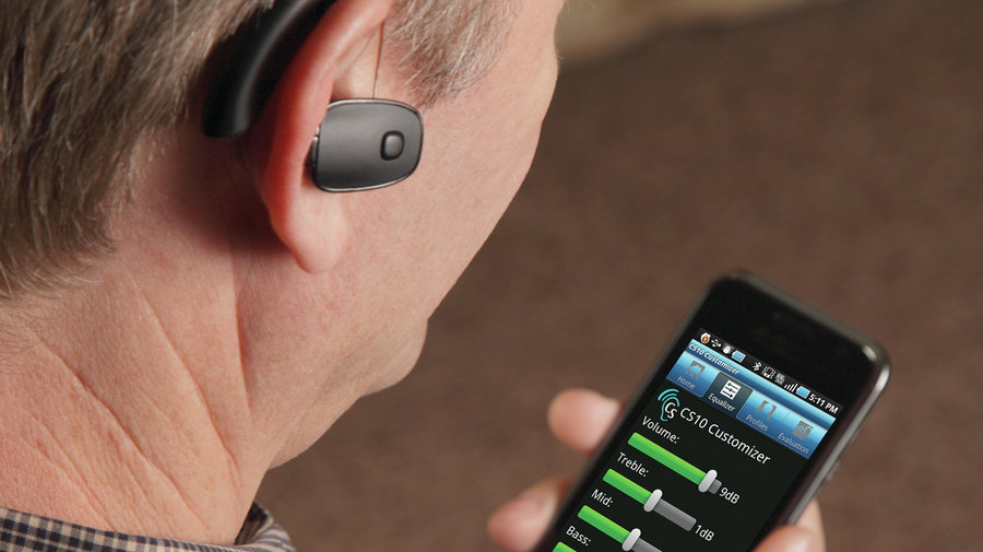 resound MFi hearing aids connecting to iPhone without any streamers.