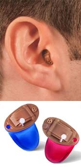 Completely In The Canal (CIC) hearing aids