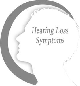 Signs and symptoms of hearing loss deafness