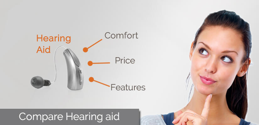 Hearing aid Comparisons