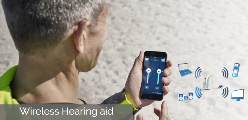 Wireless hearing aids