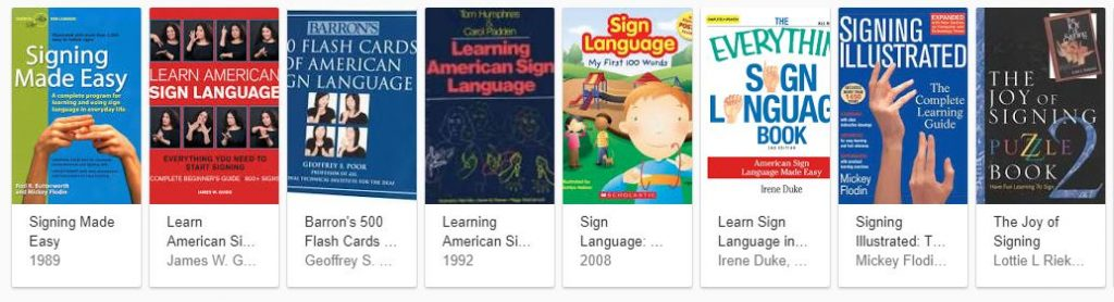 The Best Sign Language Book Recommendations