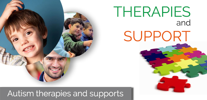 Autism therapies and supports
