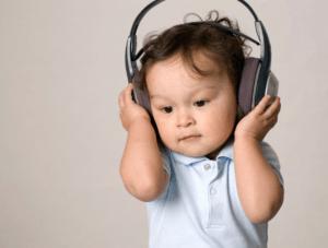 loud music hurt babies ear