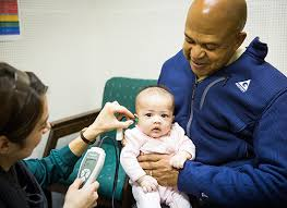 Hearing Test Done on a Toddler