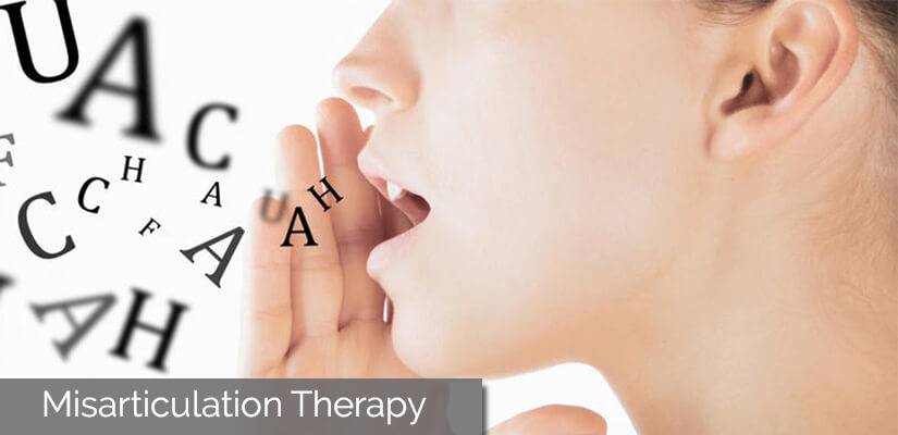 misarticulation therapy