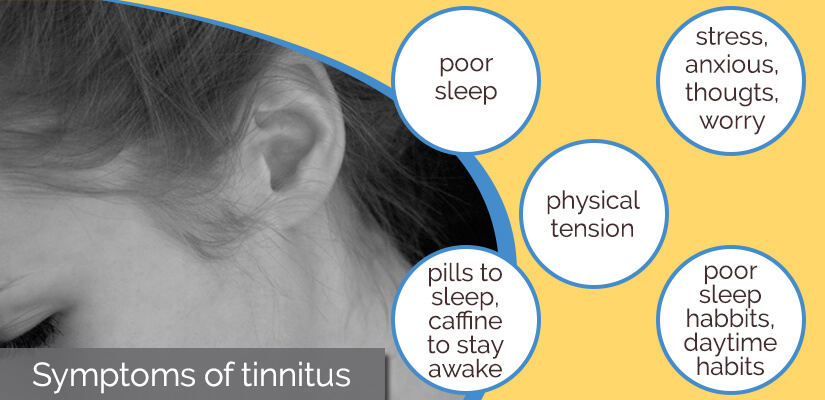 Symptoms of tinnitus