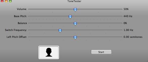 Tone tester