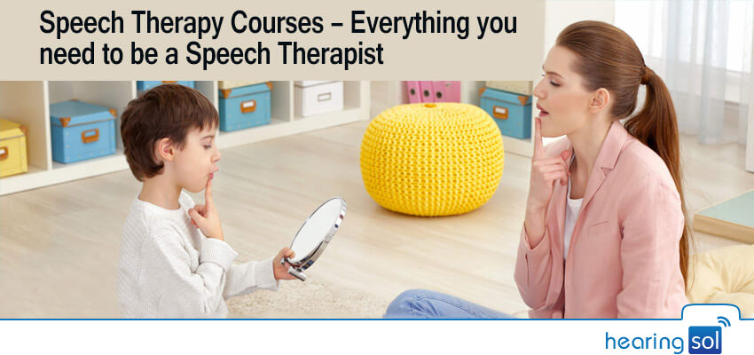 Speech Therapy Courses - Everything you need to be a Speech Therapist
