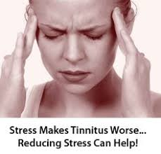 tinnitus made worse by stress