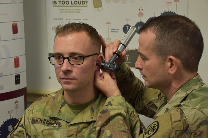 hearing test in military