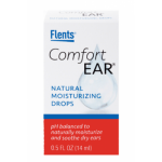 Moisturizing ear drops