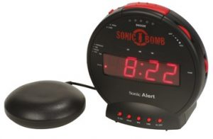 Vibrating alarm clocks Gifts For Hearing Impaired