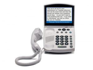 Captioned telephone