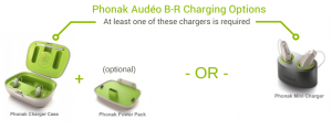Phonak Audeo br chargers