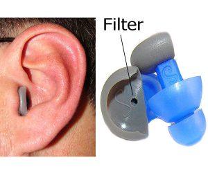 filtered earplugs