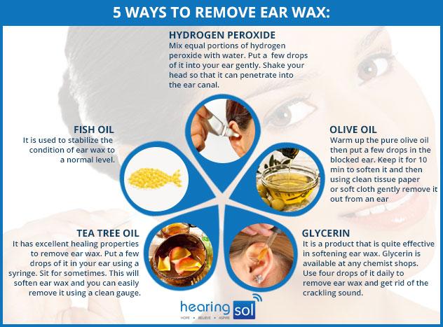 crackling noise in ear wax