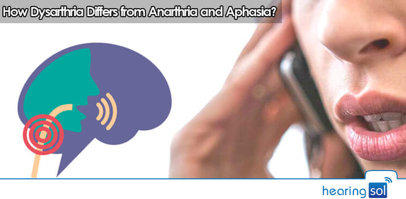 How Dysarthria Differs from Anarthria and Aphasia