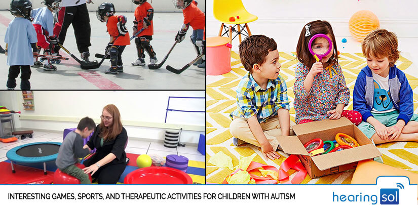 Interesting Games, Sports, and Therapeutic Activities For Children With Autism