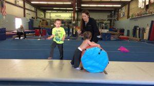 Gymnastics for autistic children