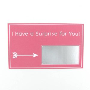 Carry a surprise card