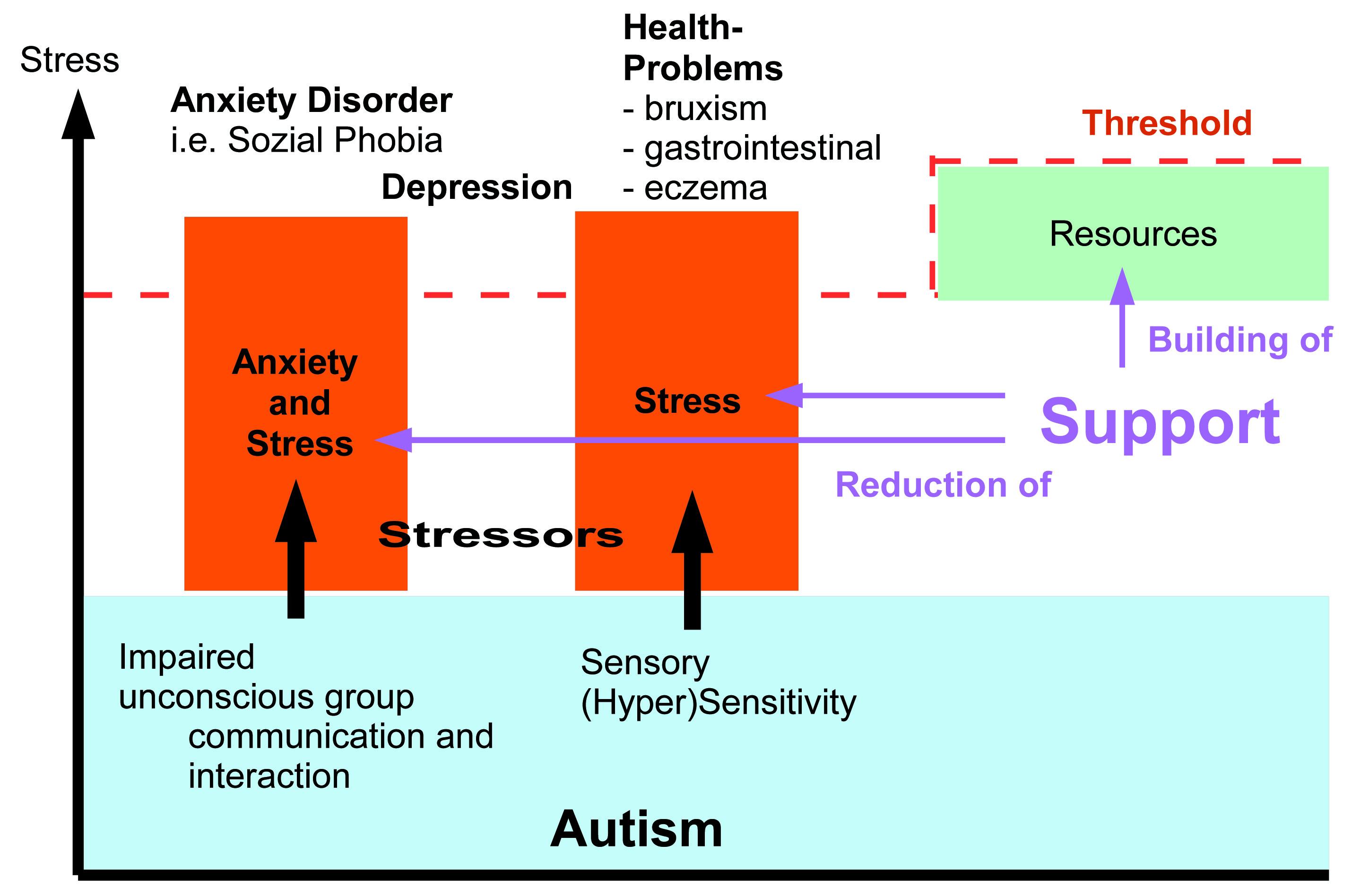 How anxiety arises in ASD