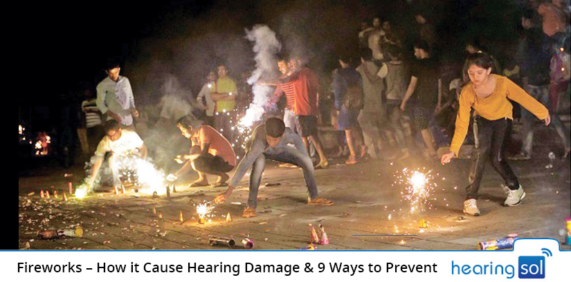 Fireworks – How it Cause Hearing Damage & 9 Ways to Prevent