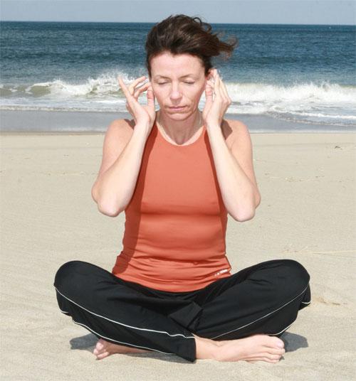 Lobe Massage Exercise
