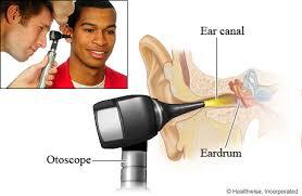 Otoscopic exam