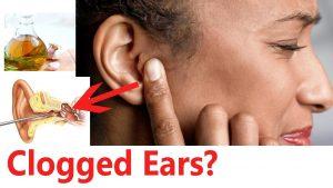 clogged ears