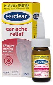 ear ache relief