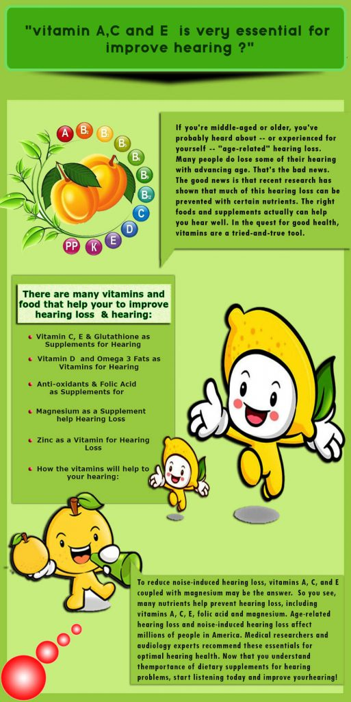 vitamins for better hearing