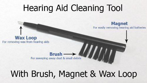 hearing aid cleaning tools