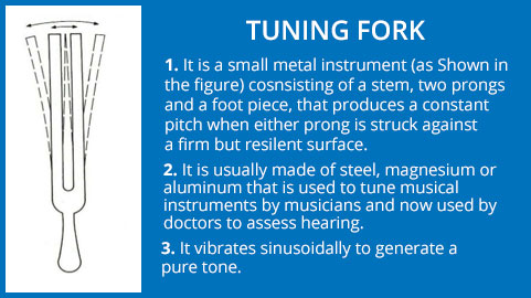 Overview of Tuning Fork Test